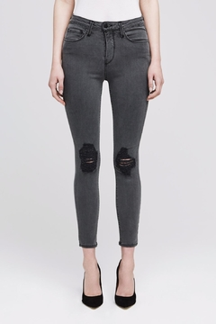 L'Agence Margot Distressed Skinny Jeans - Product List Image