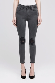 L'Agence Margot Distressed Skinny Jeans - Product Mini Image