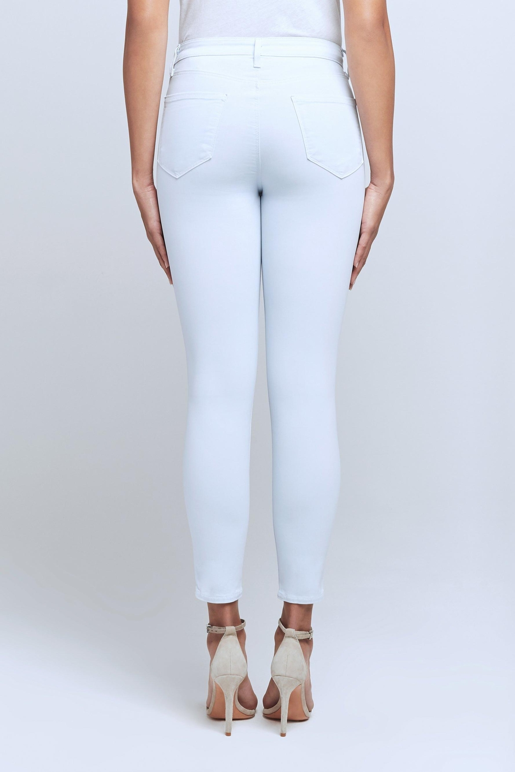 L'Agence Margot Sateen Jean - Back Cropped Image
