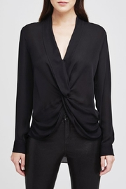 L'Agence Mariposa Twist Blouse - Front cropped