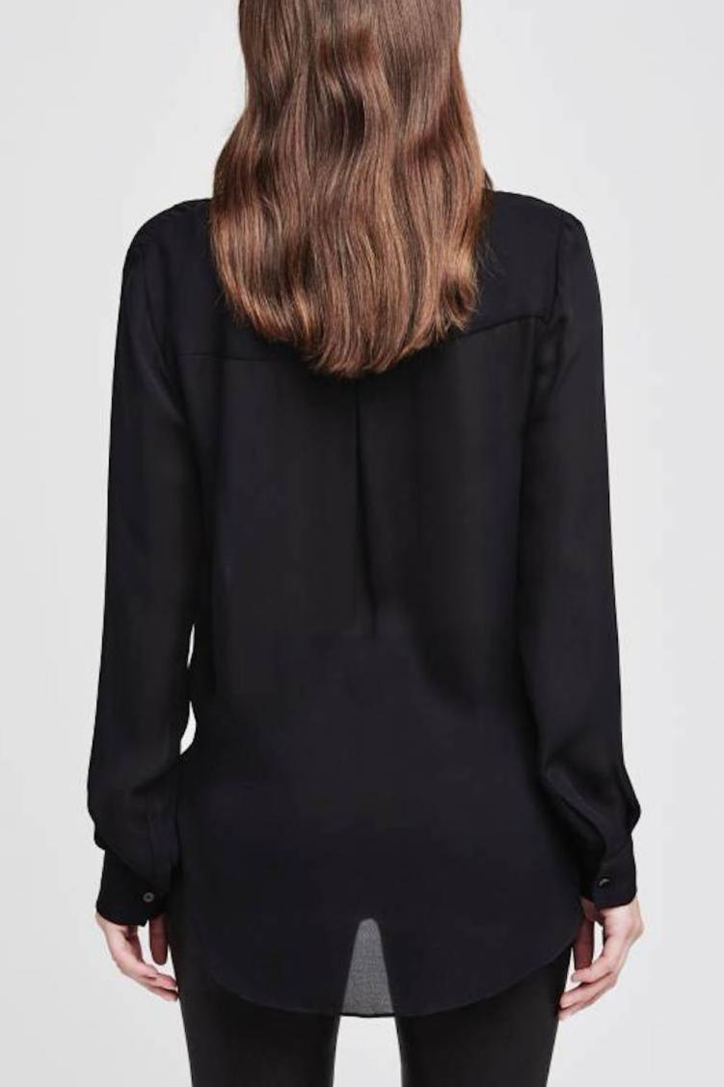 L'Agence Mariposa Twist Blouse - Side Cropped Image