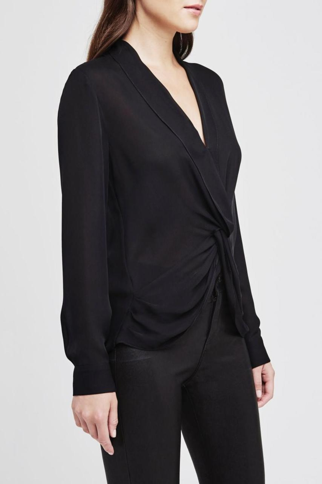 L'Agence Mariposa Twist Blouse - Front Full Image