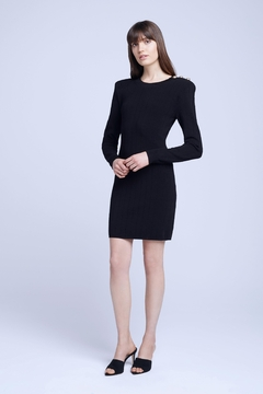 L'Agence Minette Long Sleeve Dress - Product List Image