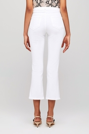 L'Agence Nadia High Rise Crop Straight Jean - Side cropped