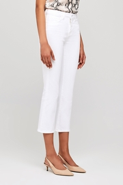 L'Agence Nadia High Rise Crop Straight Jean - Back cropped