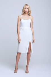 L'Agence Nancy Boucle Knit Skirt - Front cropped