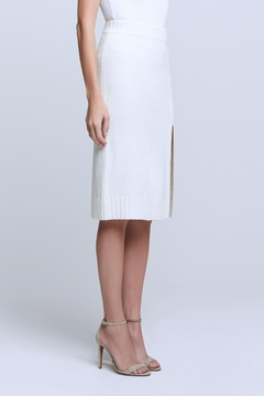 L'Agence Nancy Boucle Knit Skirt - Alternate List Image
