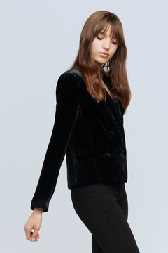 L'Agence Rory Velvet Blazer - Alternate List Image