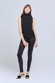 L'Agence Sabrina Turtleneck Top - Front full body