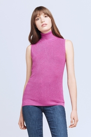 L'Agence Sabrina Turtleneck Top - Product Mini Image