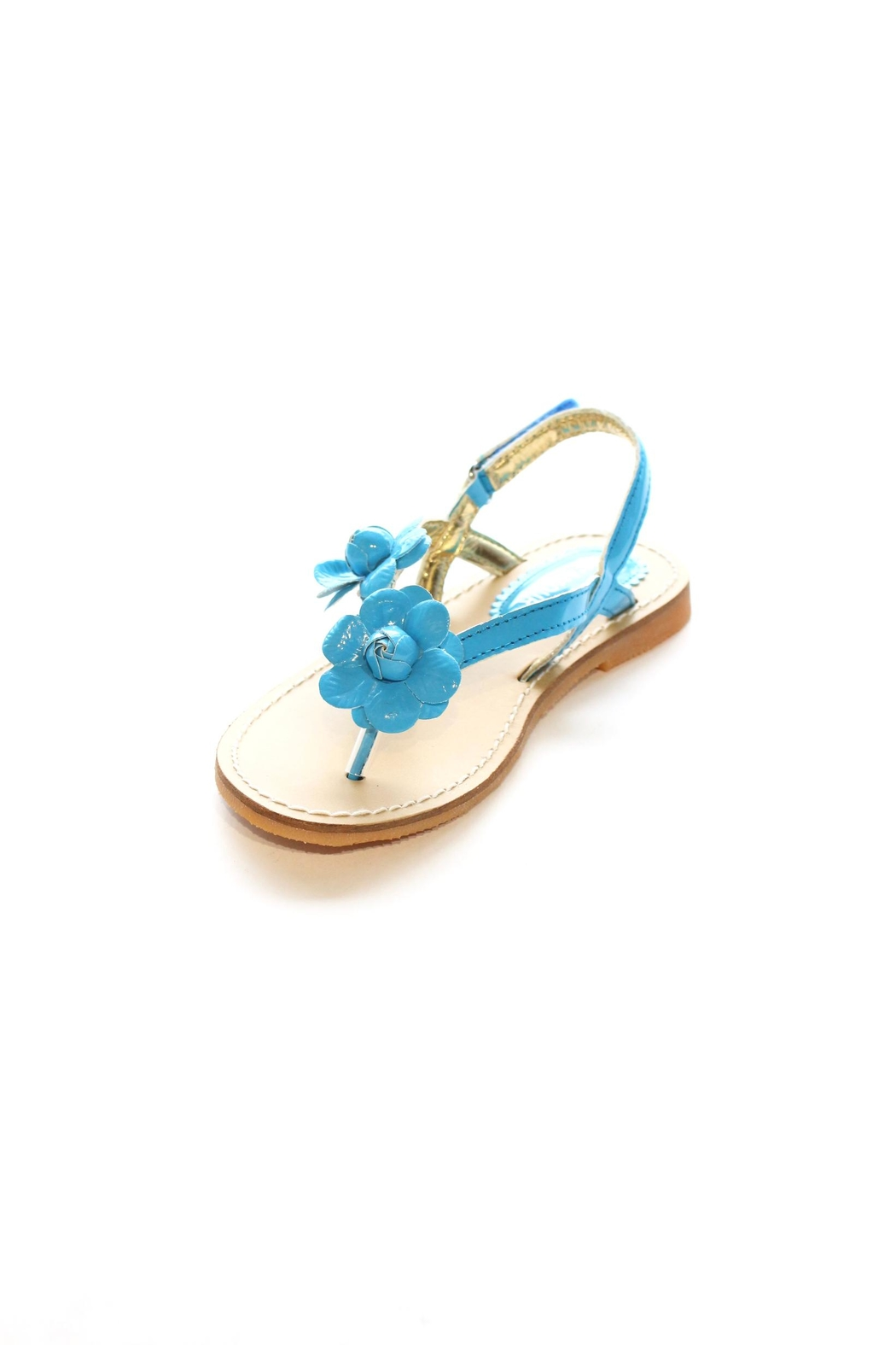 L'Amour Flower Thong Sandal - Front Cropped Image