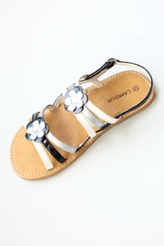 L'Amour Strappy Flower Sandals - Product Mini Image