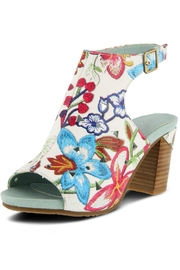 L'Artiste Flower Embroidered Sandal - Product Mini Image