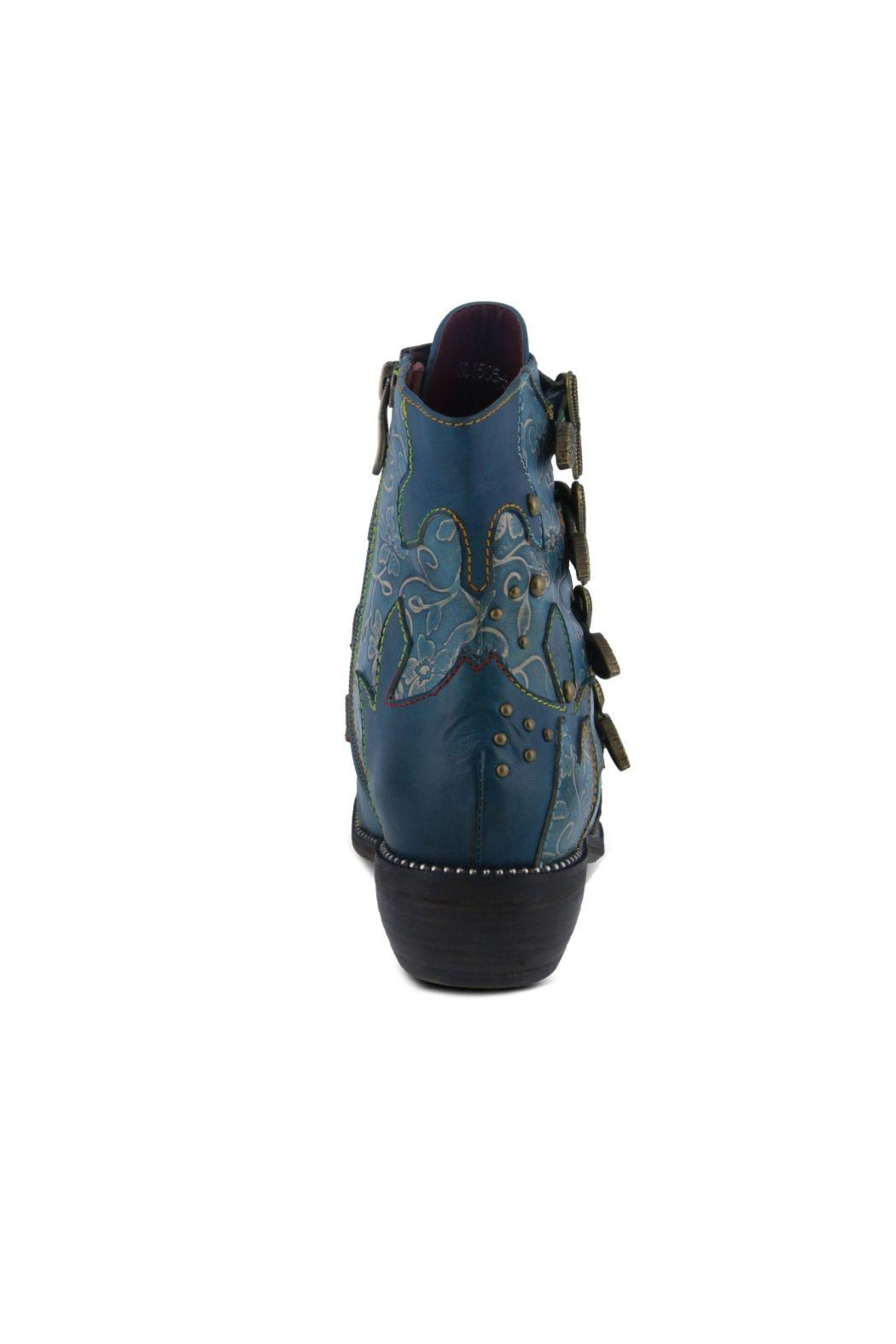 L'Artiste Leather Ankle Boot - Main Image