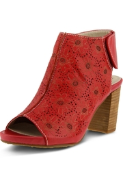 L'Artiste Red Sandal Bootie - Product Mini Image