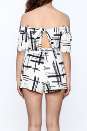 L'atiste Abstract Romper - Back cropped