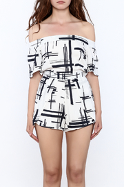 L'atiste Abstract Romper - Side cropped
