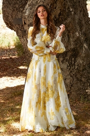 L'atiste Belted Floral Maxi - Product Mini Image