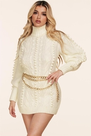 L'atiste Belted Sweater Dress - Product Mini Image