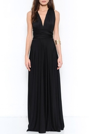 L'atiste Black Maxi Dress - Product Mini Image