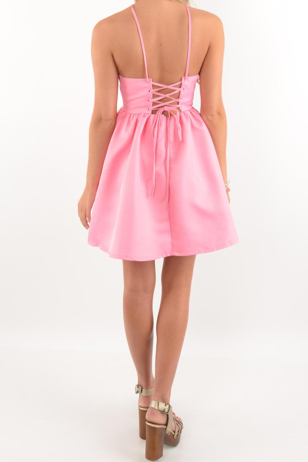 L&-39-atiste Bubblegum Pink Dress from Mississippi by Deep South Pout ...