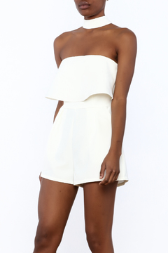 Shoptiques Product: White Choker Romper