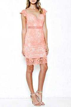 L'atiste Coral Lace Dress - Product List Image