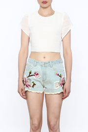 L'atiste Crop Top - Front full body