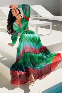 L'atiste Cut-Out Ombre Maxi - Product List Image