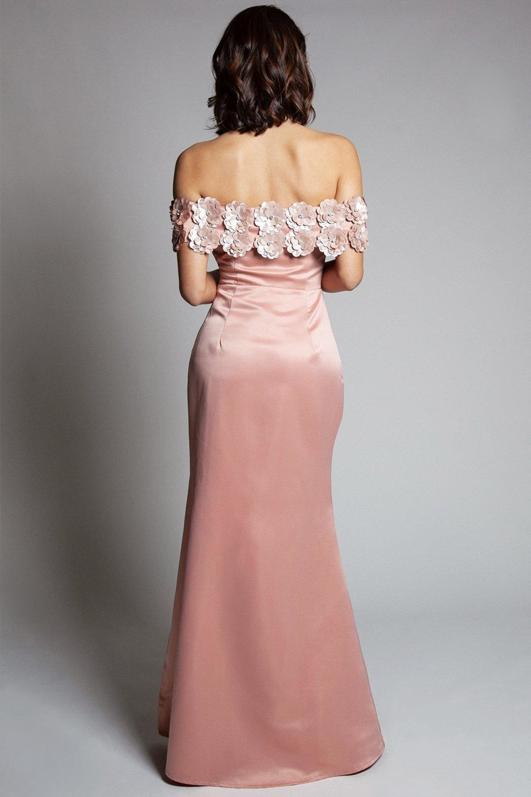 L'atiste Evening Maxi Dress - Back Cropped Image