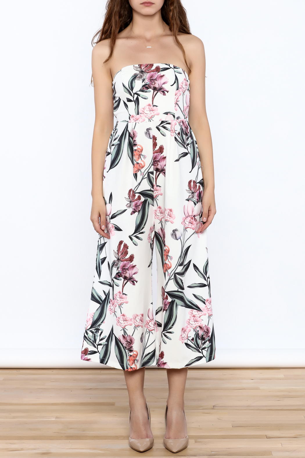 f71d1a56b501 L atiste Strapless Floral Jumper from New York by Dor L Dor — Shoptiques