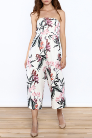 L'atiste Strapless Floral Jumper - Product Mini Image