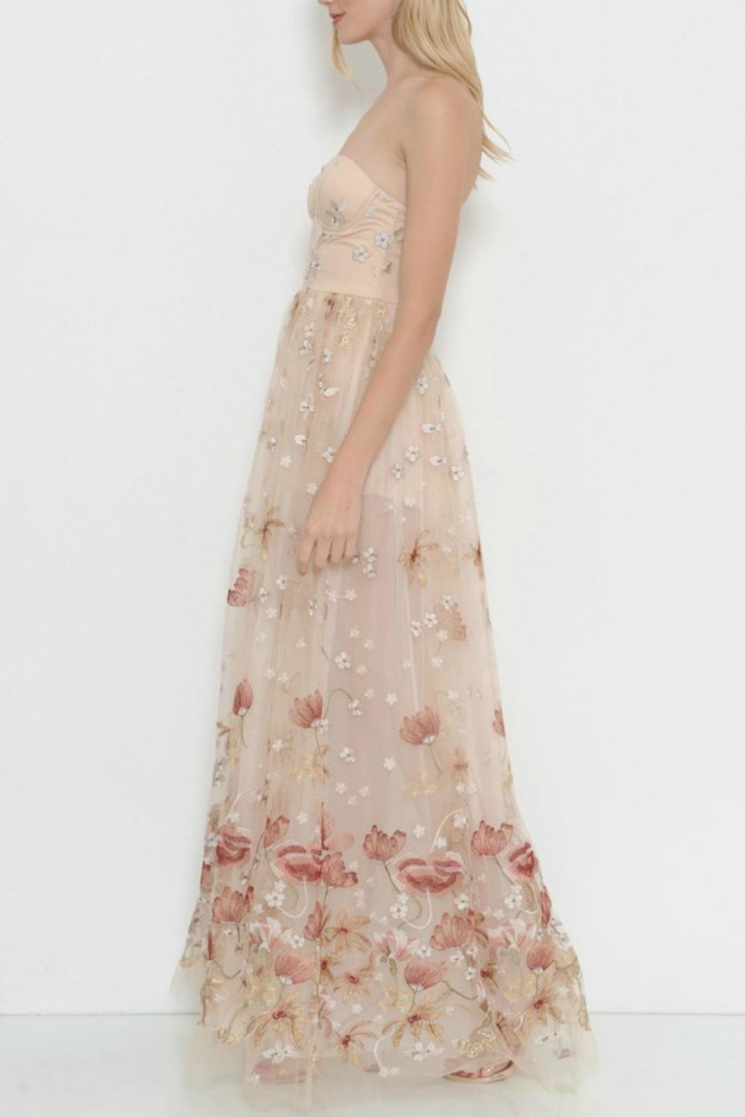 L'atiste Floral Dream Maxi - Side Cropped Image