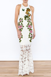 Shoptiques Product: White Floral Lace Dress