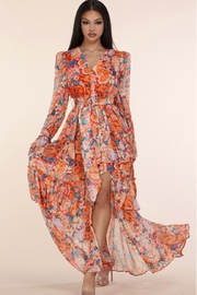 L'atiste Floral Maxi Dress - Front cropped