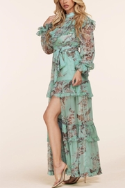 L'atiste Floral Maxi Dress - Front full body