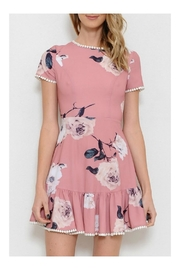 L'atiste Floral Print Dress - Product Mini Image