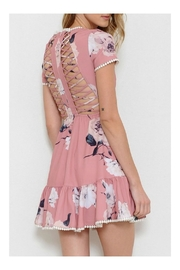L'atiste Floral Print Dress - Front full body