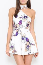 L'atiste Floral Print Romper - Front cropped