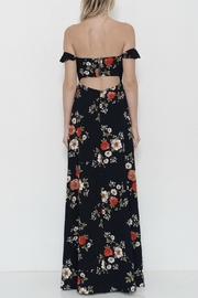 L'atiste Flower Maxidress - Front full body