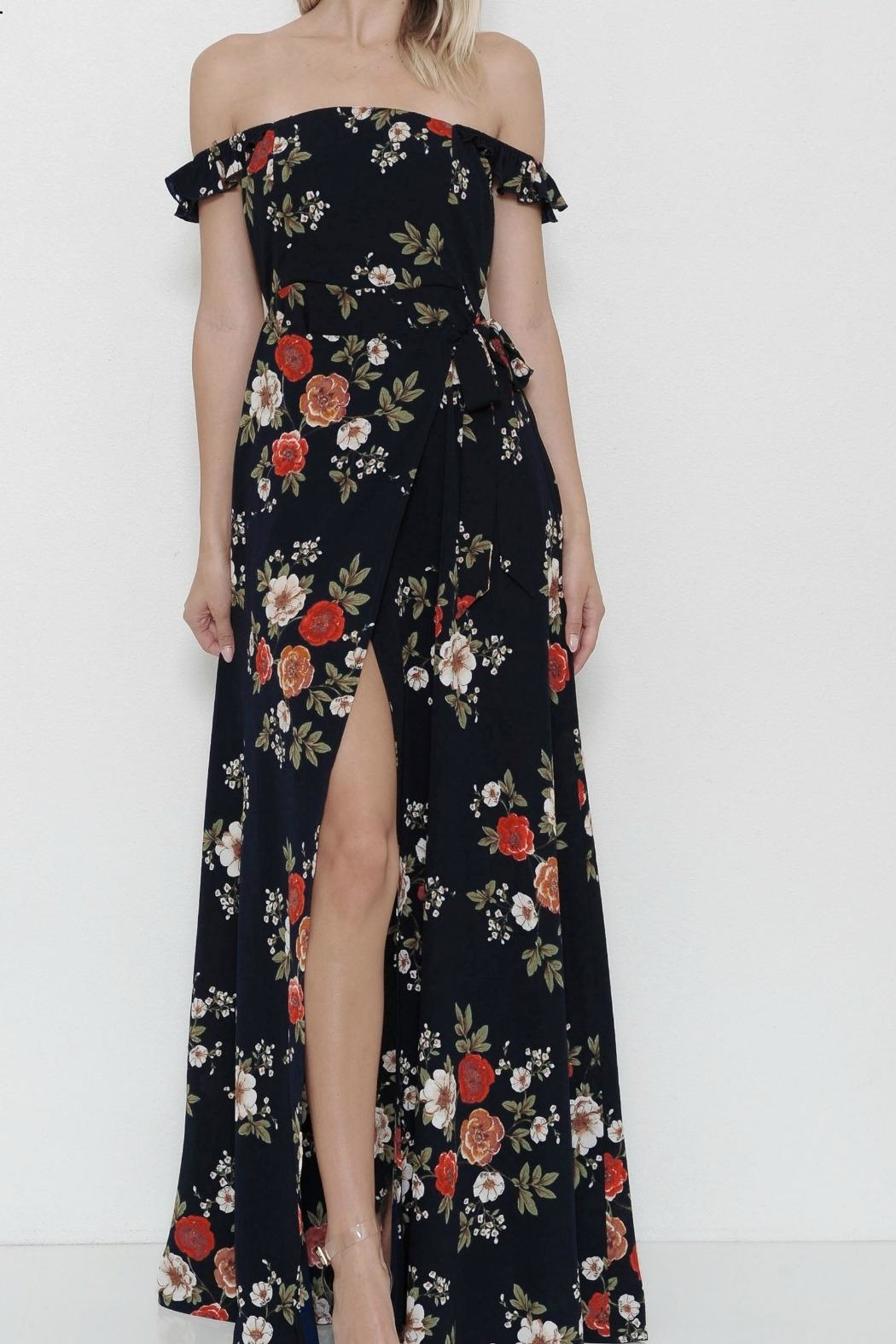 L'atiste Flower Maxidress - Main Image