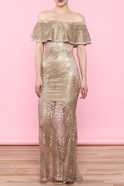 L'atiste Gold Dress - Product Mini Image