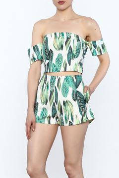 Shoptiques Product: Leaf Print Matching Set