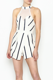 L'atiste Line Back Romper - Product Mini Image
