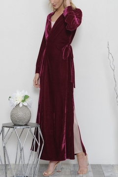 L'atiste Luxe Maxi Coat Dress - Product List Image