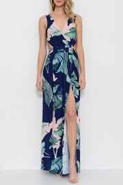 L'atiste Electric Maxi Dress - Front cropped