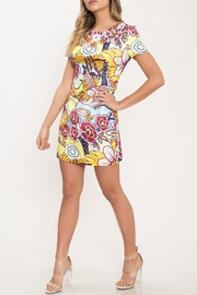 L'atiste Mod Floral Dress - Front full body