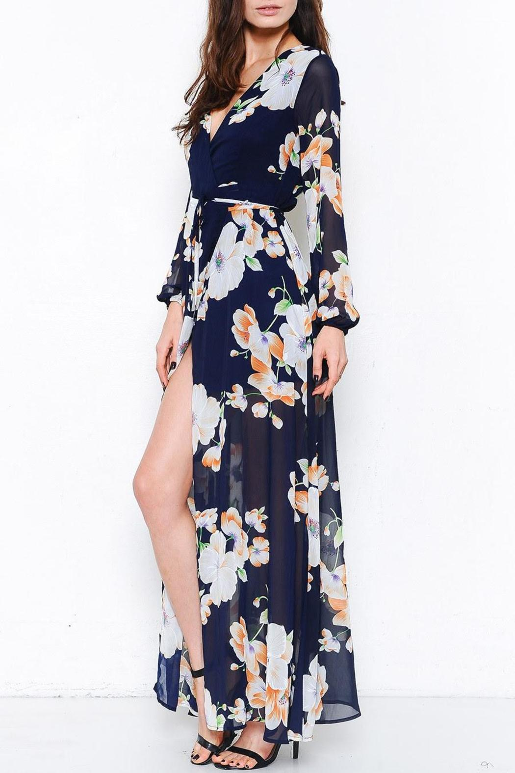 L'atiste Odyssey Floral Maxi - Front Full Image