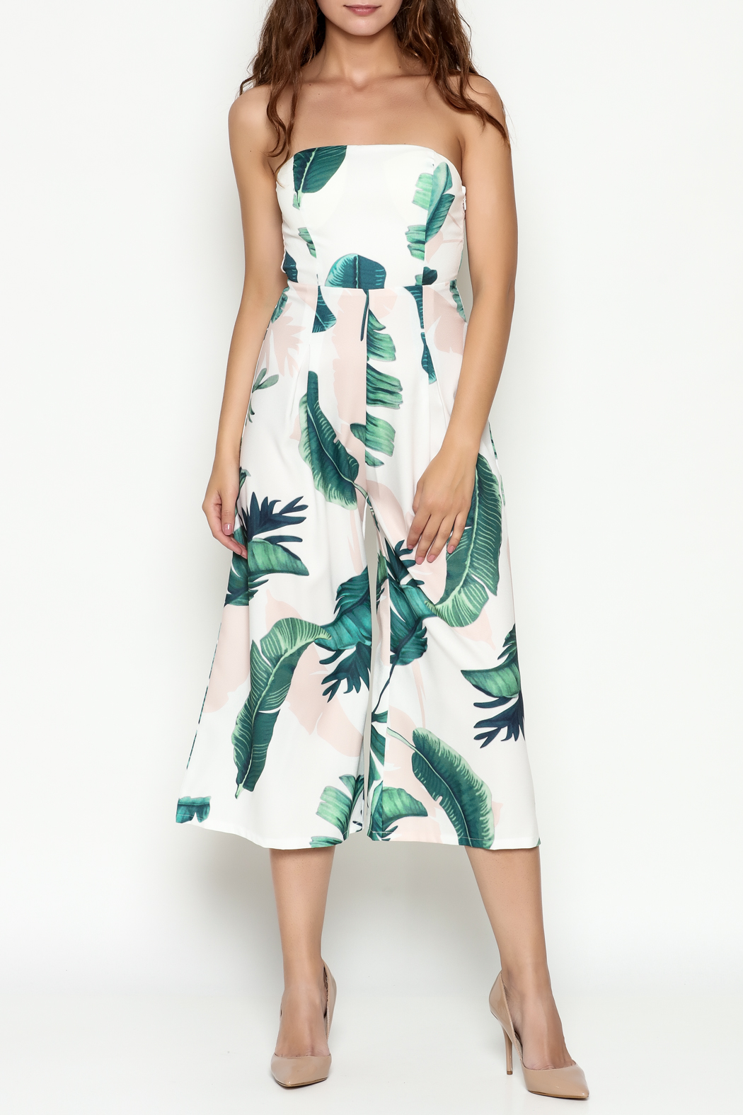 L Atiste Tropical Print Jumpsuit From Manhattan By Dor L