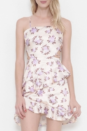 L'atiste Printed Ruffle Dress - Front cropped